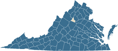 Map of Greene County